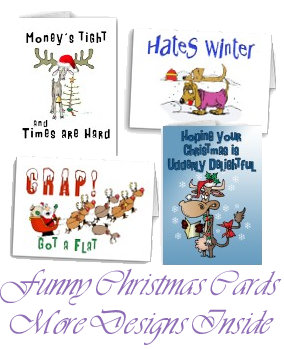 Christmas Cards-Funny