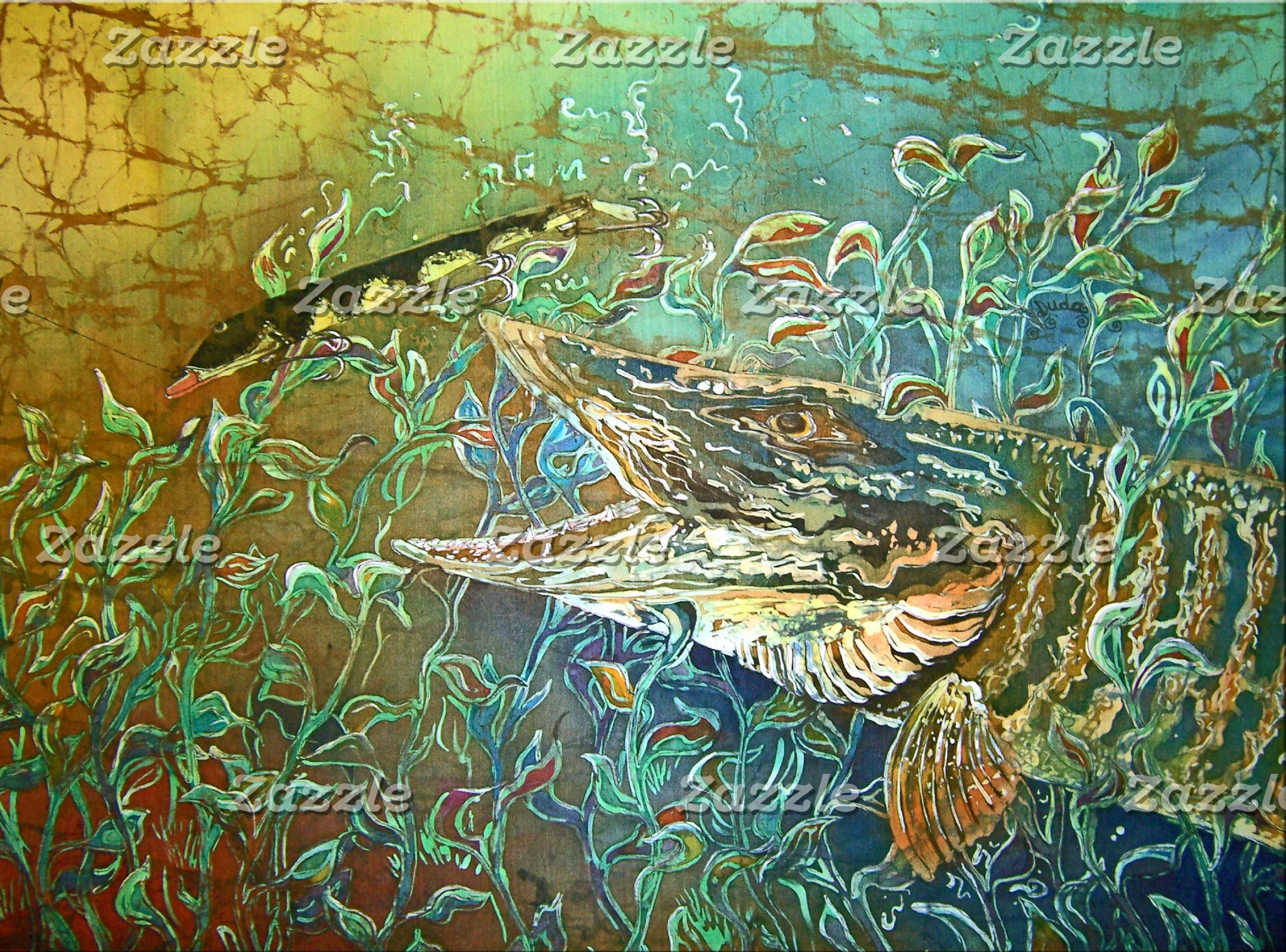 FRESHWATER ART on PRODUCTS
