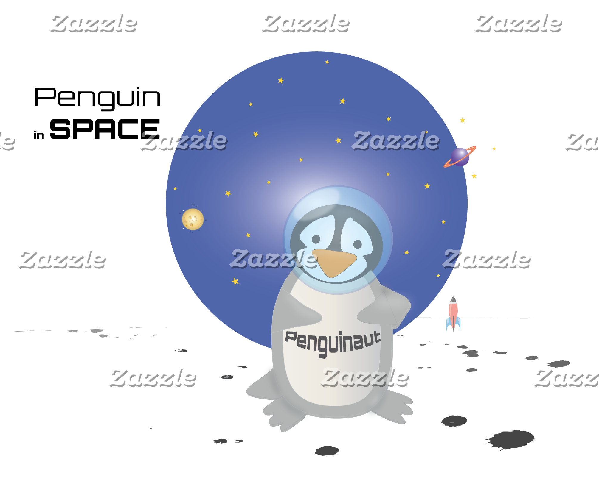 Penguins in Space