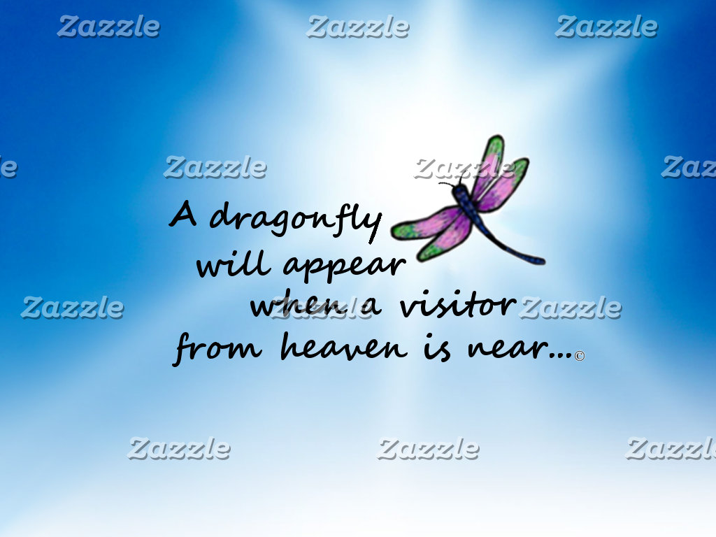 Dragonfly, Visitor from Heaven
