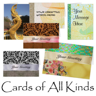 Note Cards of All Kinds