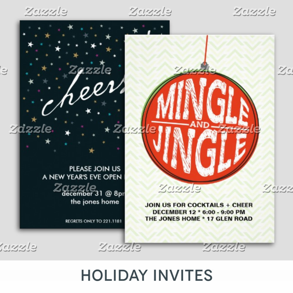 Holiday Invites
