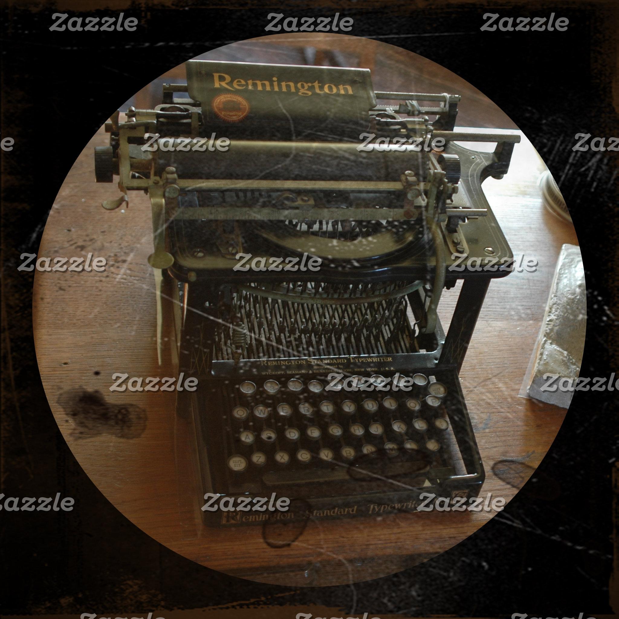 Typewriters Microscopes Compasses