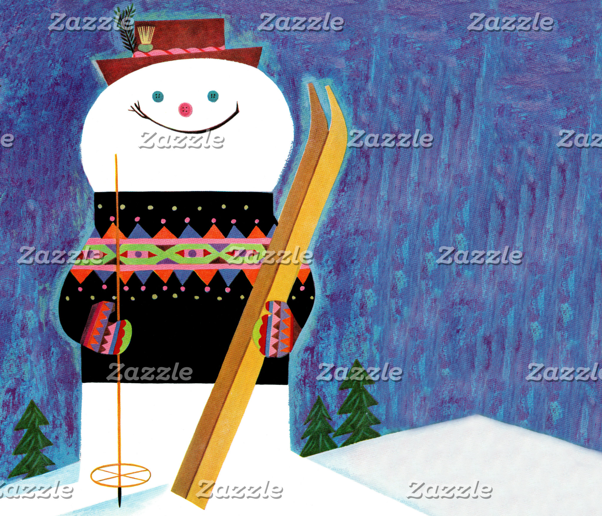 Skis for Snowman