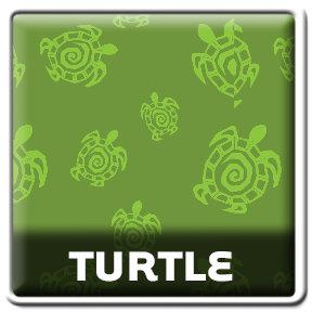 Wild Me Turtle Green