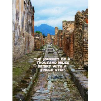 Lao Tzu JOURNEY travel quote