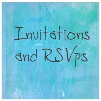 4. Invitations & RSVPs