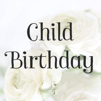 Child Birthday Invitations