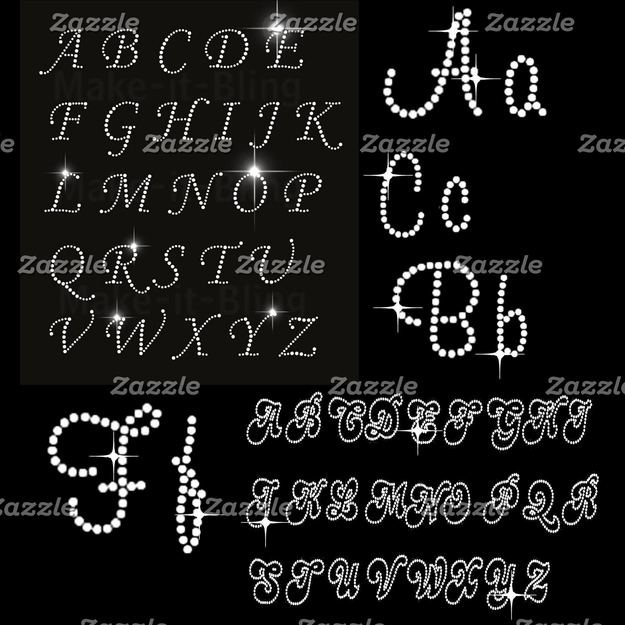 Bling Monograms