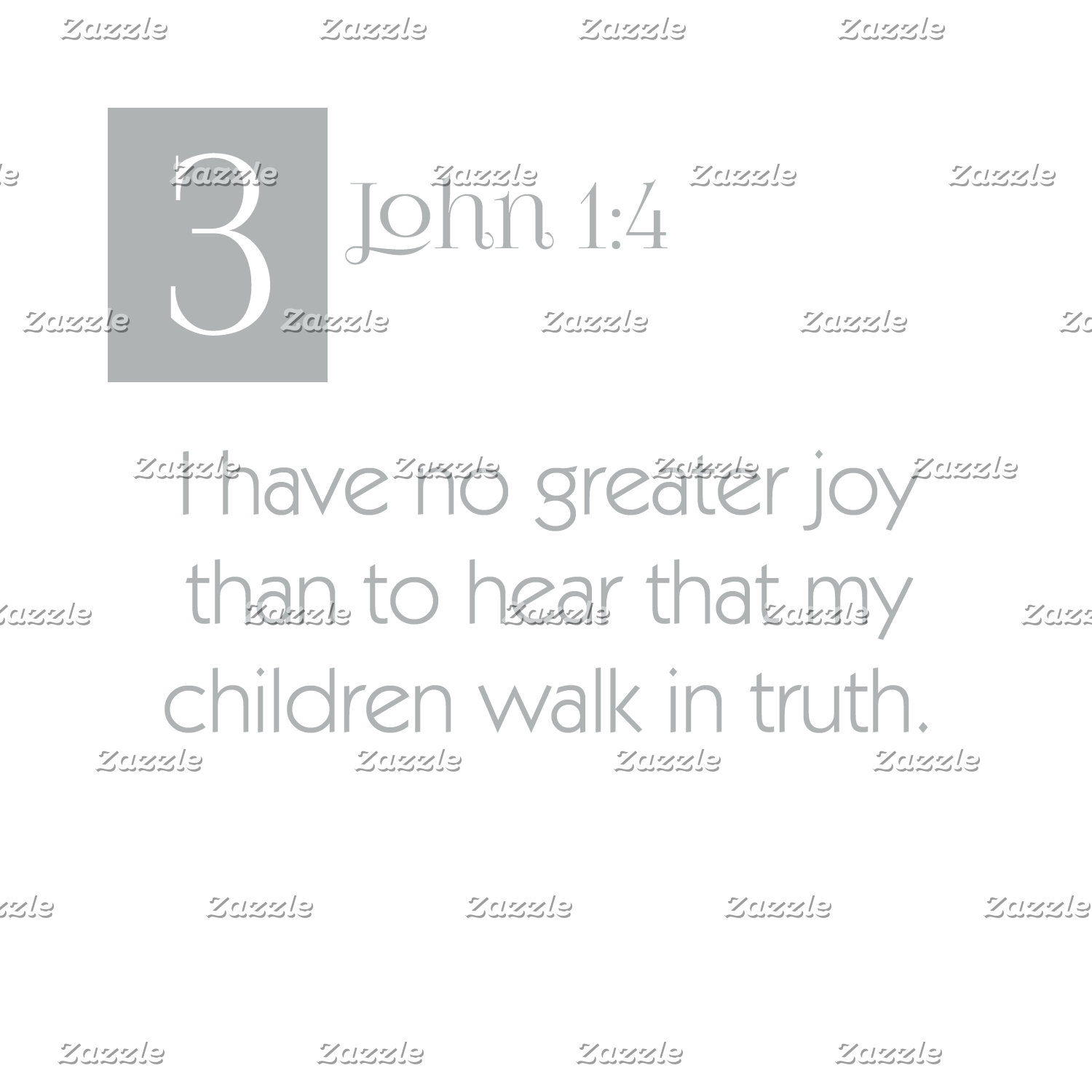 3 John 1:4 - Children Walk in Truth