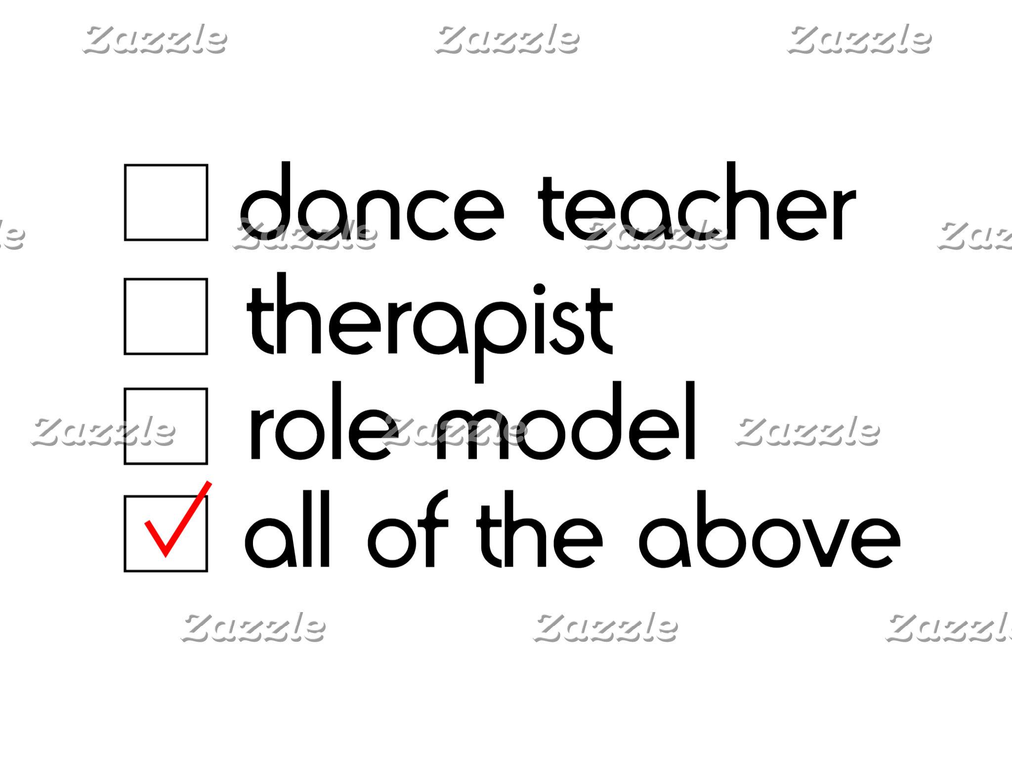 Great Stuff for Dance Teachers!