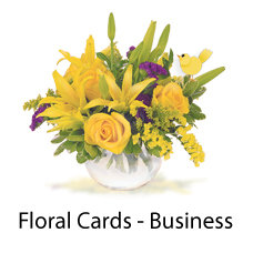 Floral Cards - Business
