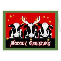 Animal Christmas Cards