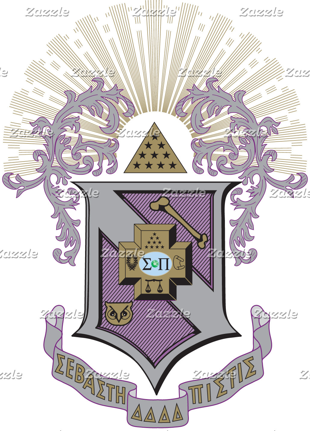 Sigma Pi Good Crest 4-C