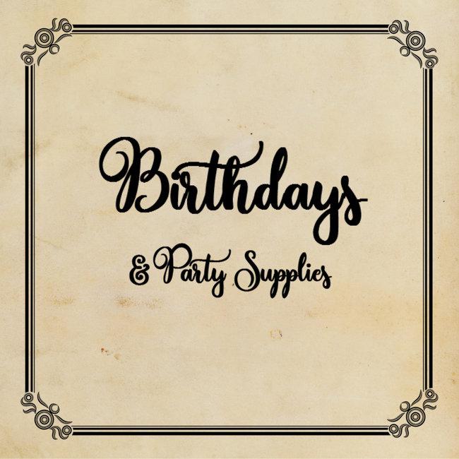 Birthdays & Party Supplies