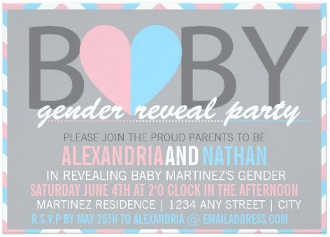 Baby Gender Reveal Party