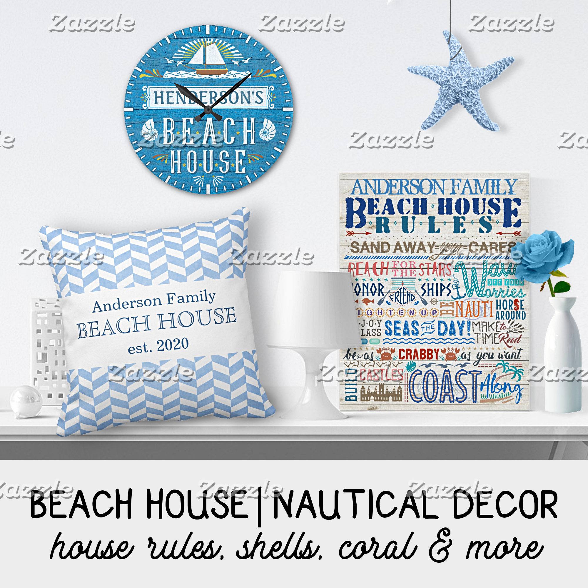 BEACH HOUSE + NAUTICAL DECOR