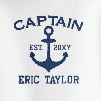 Embroidered Nautical Gifts