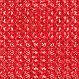 ❄ Snowflake ❄ Festive Red