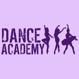Dance Acadmey Dancer Silhouettes Logo