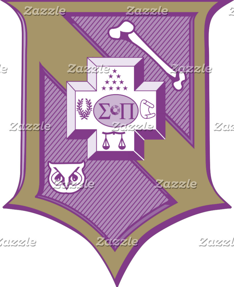 Sigma Pi Shield 2-Color