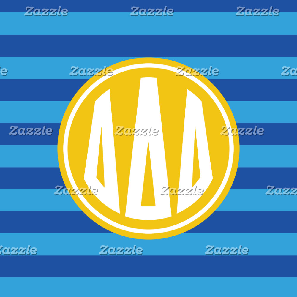 Monogram Stripe Pattern