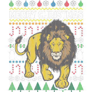 Lion Ugly Sweater