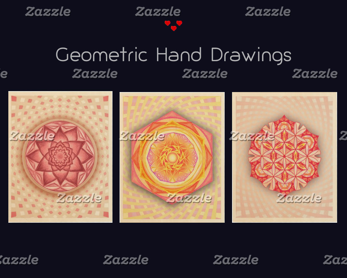 Geometric Hand Drawings