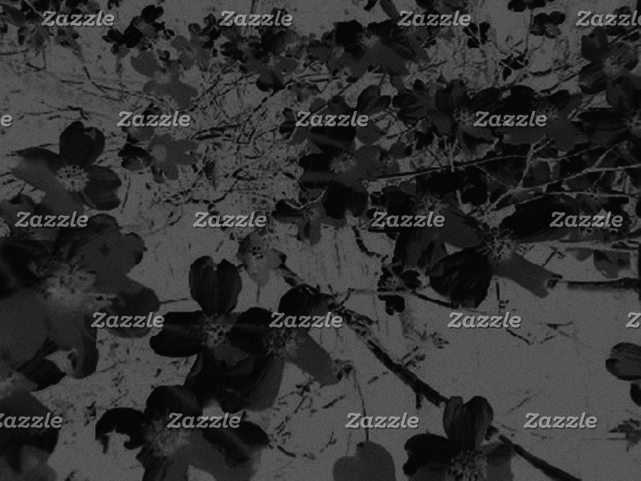 Gothic Nightfall Black Floral Wedding Suite