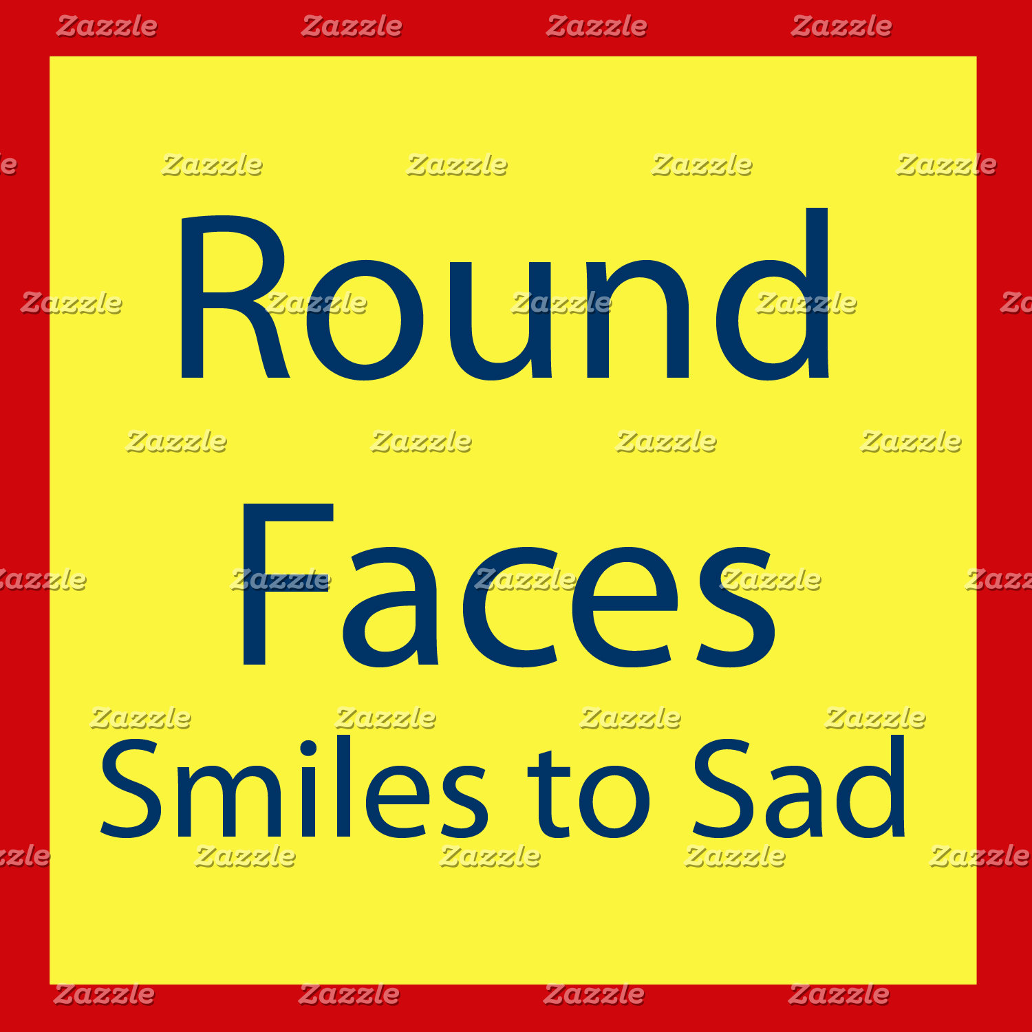 Round Faces (smiles to sad)