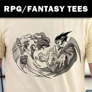 RPG Gamer / Fantasy Art Shirts