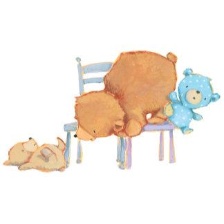 Floppy Bear, Big Brown Bear & Calico Bear