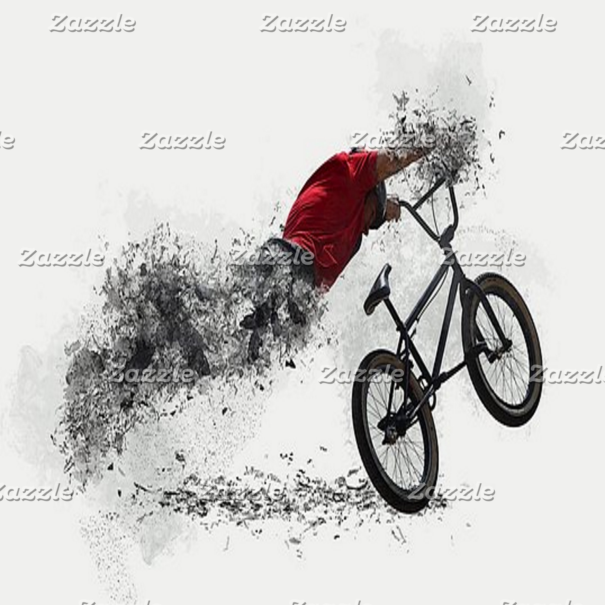 Abstract Art - Bicycles