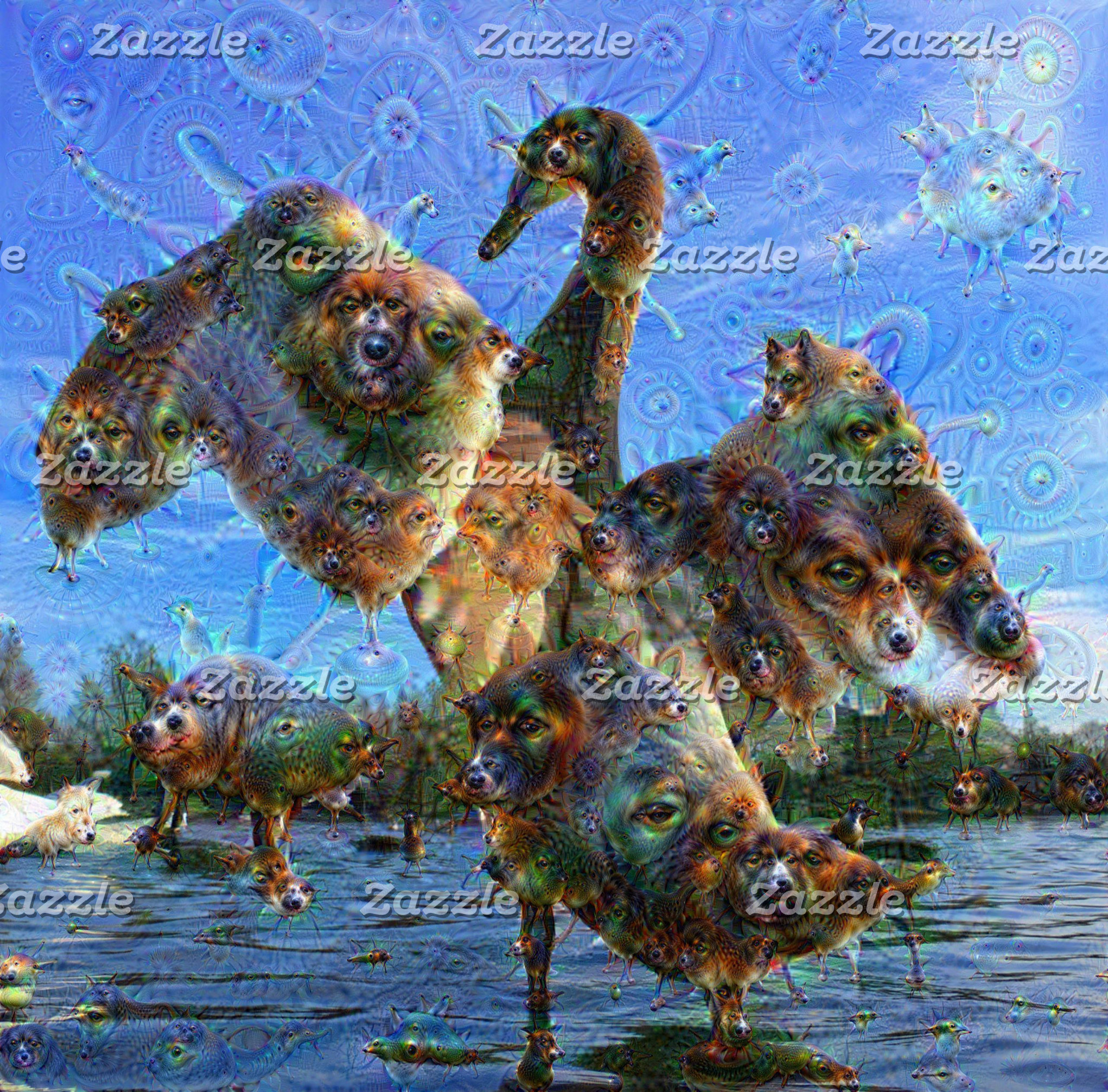 DeepDream Creatures