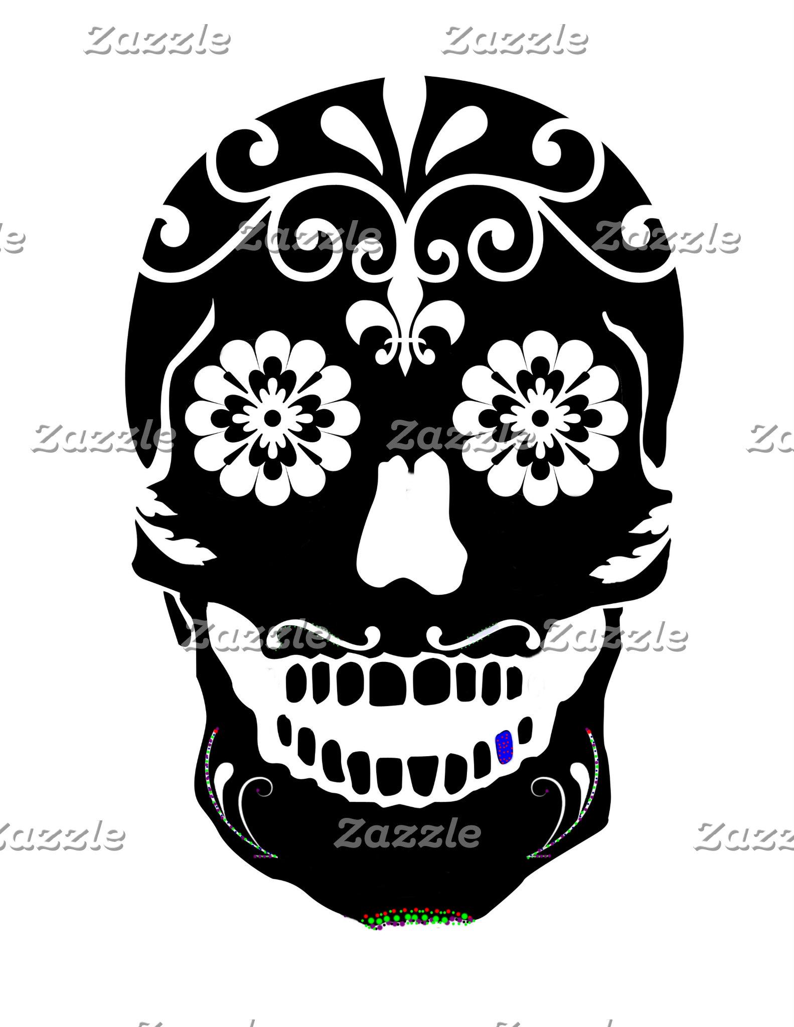 Sugar Skulls and Skullies