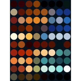 Geometric Patterns   Multicolor Circles II