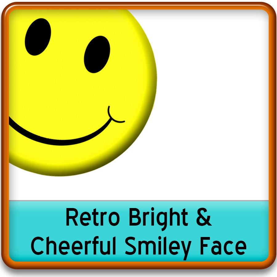 Retro Smiley Face