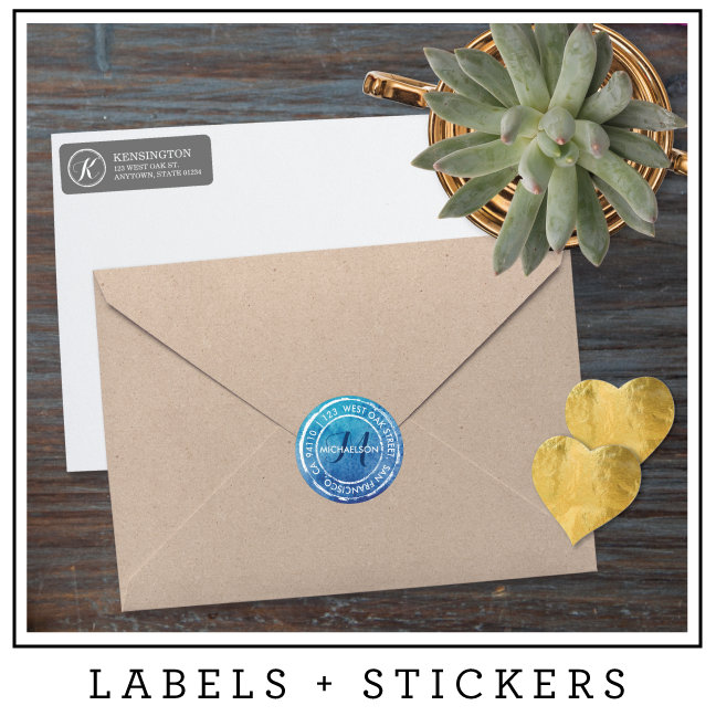 labels + stickers