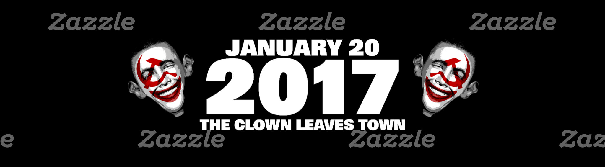 Anti obama | Clown Leaves Town