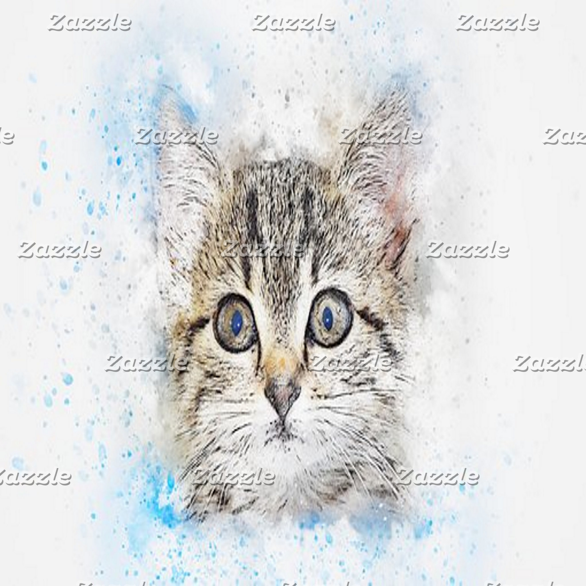 Abstract Art - Cats