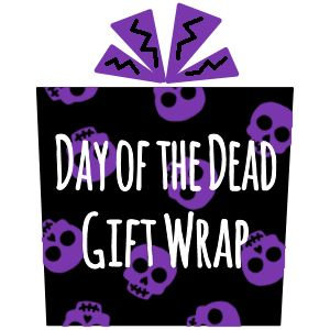 Day of the Dead Gift Wrap