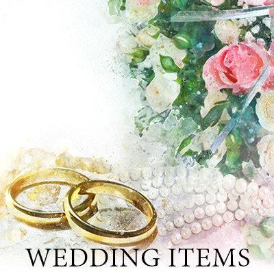 Wedding Items