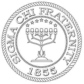 Sigma Chi Grand Seal B+W