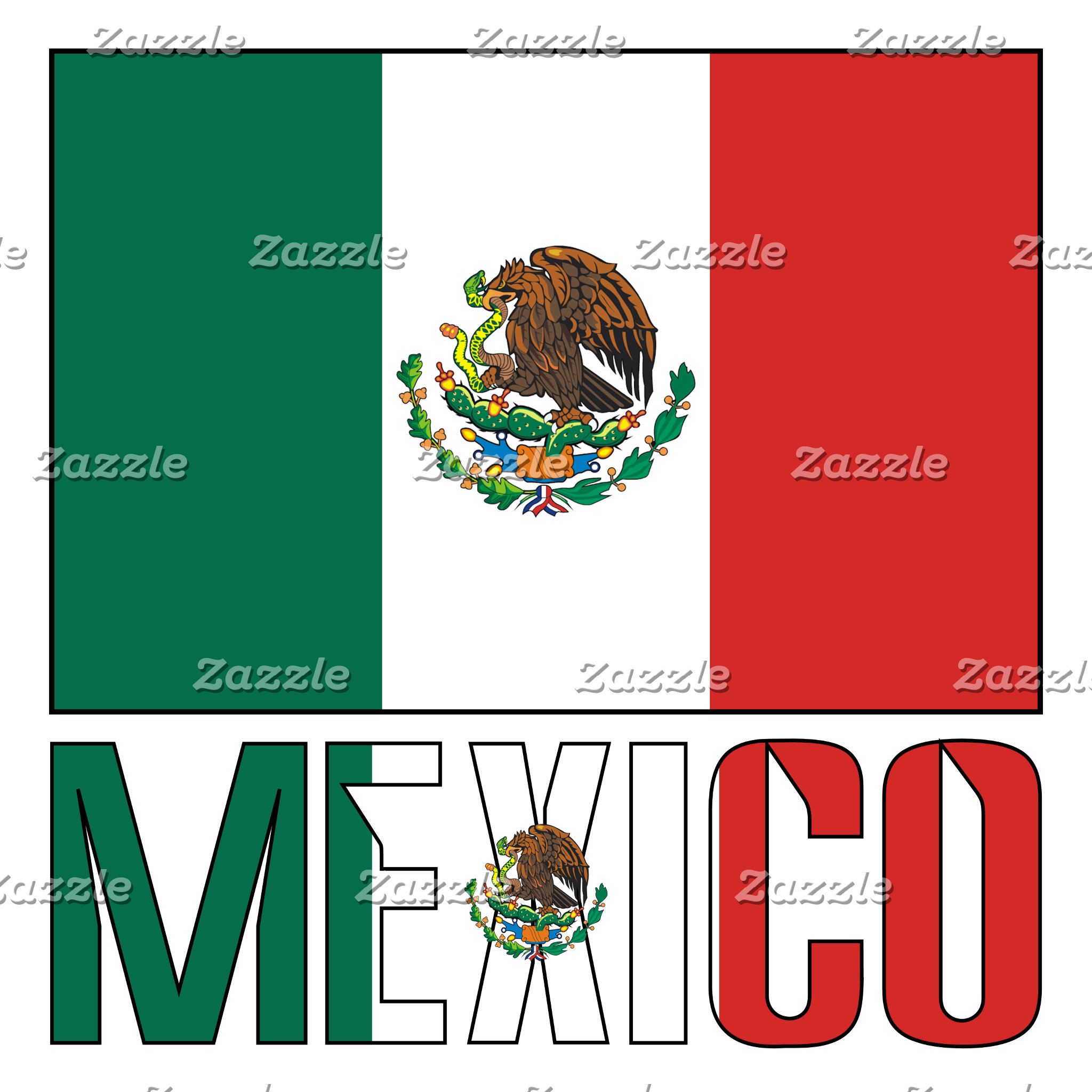 Mexican Flag and Mexico