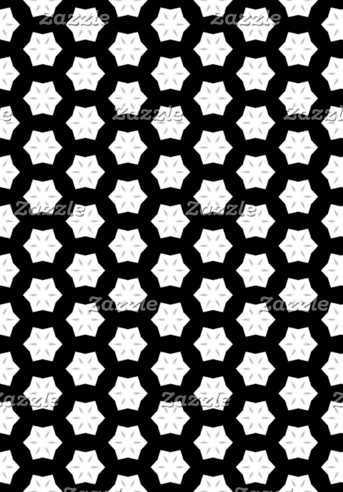 Black & White Patterns | Hexagons V