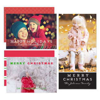Christmas Photo Cards & Stationery