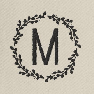 Embroidered Monogram Gifts