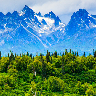 Majestic Alaska Mountains