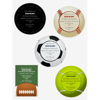Sports Theme Party Accessories