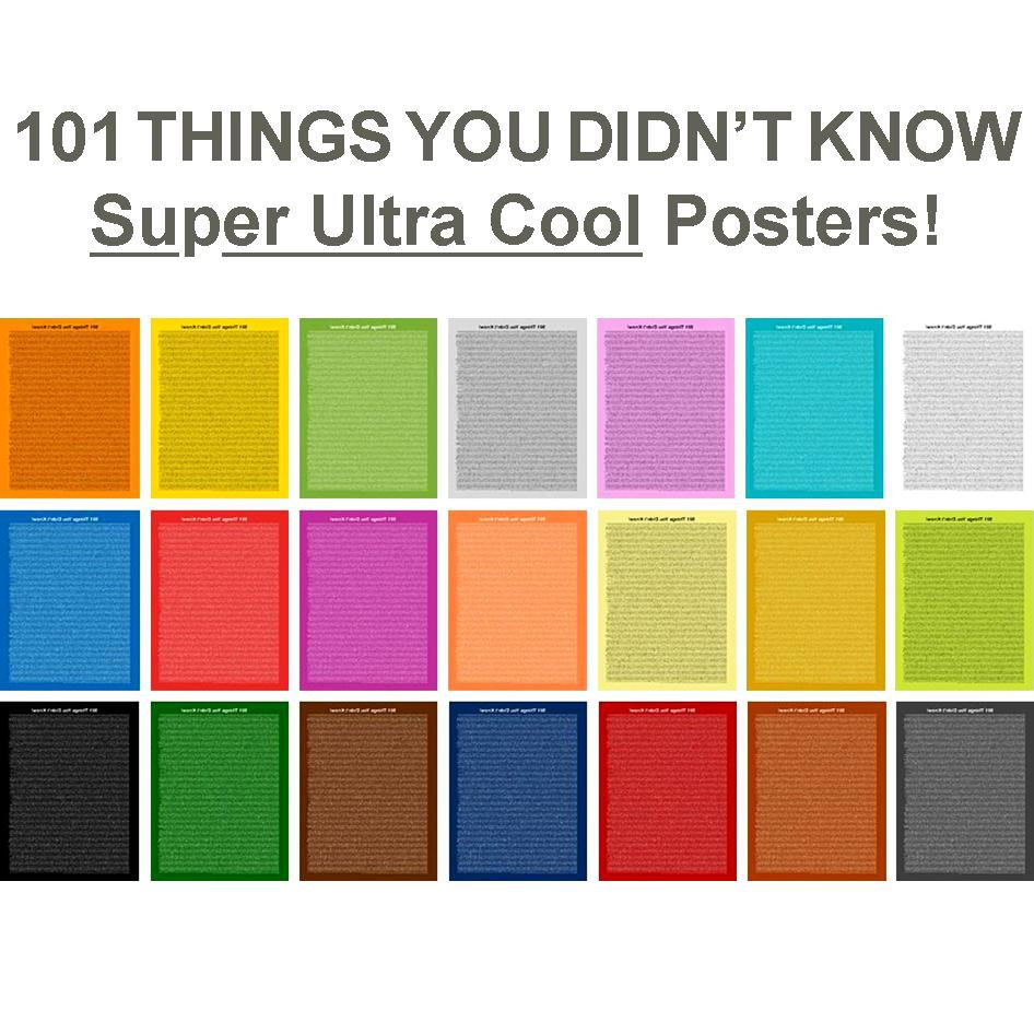 101 THINGS YOU DID NOT KNOW